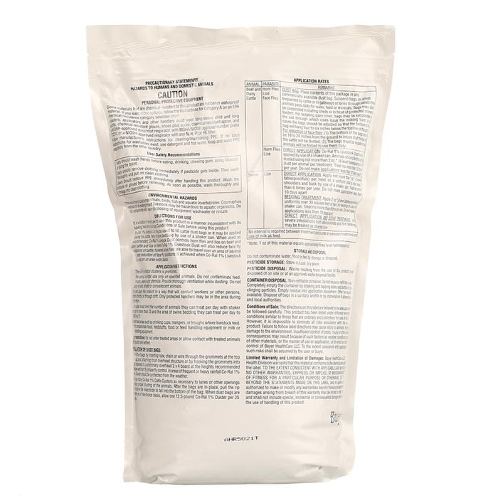 Co-Ral 1% Livestock Dust 12.5lb
