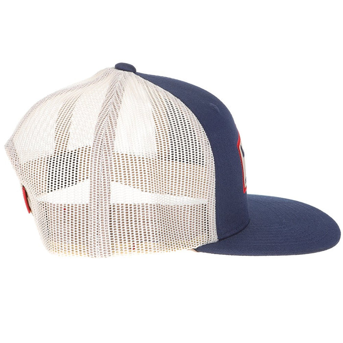Kimes Ranch Navy Replay Trucker Cap