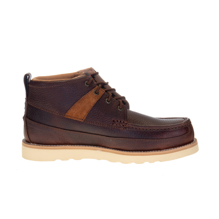 Men's Twisted X 4in. Cinnamon Wedge Sole Alloy Toe Lace Up Work Boot