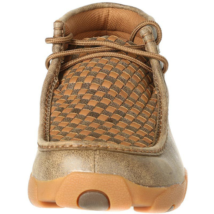 Men's Twisted X  Bomber/Tan Patchwork Driving Mocs