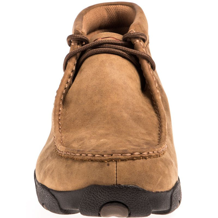b1df483df46 Men's Twisted X Distressed Saddle Waterproof Driving Mocs