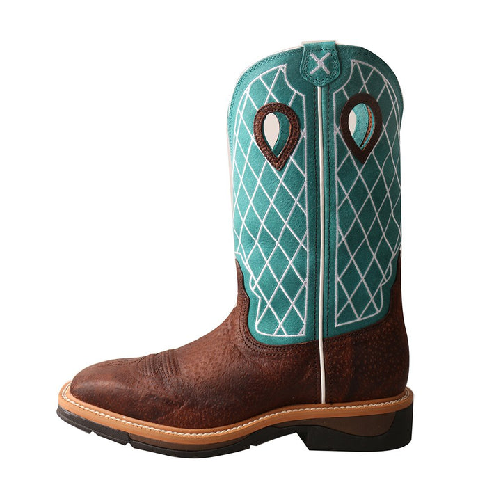 Men's Twisted X Alloy Toe Lite Western Work Boot