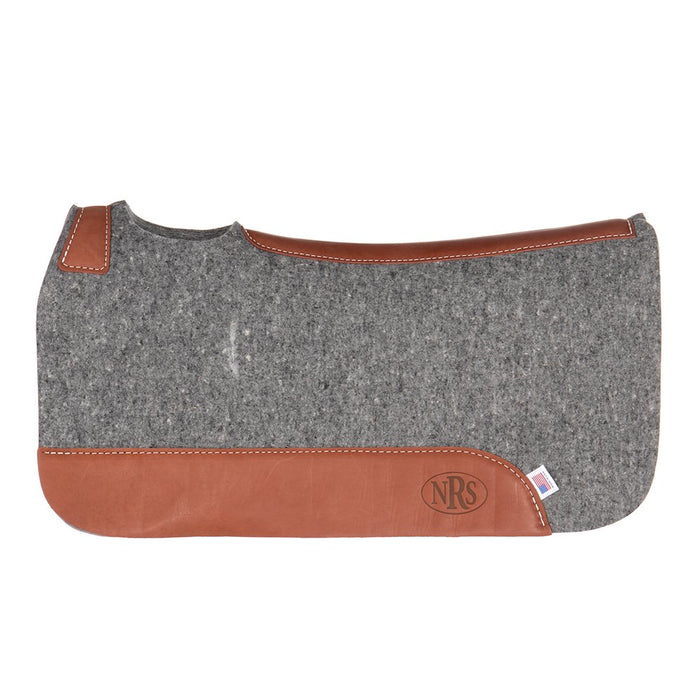 NRS 100% Pressed Wool Contoured Barrel Pad