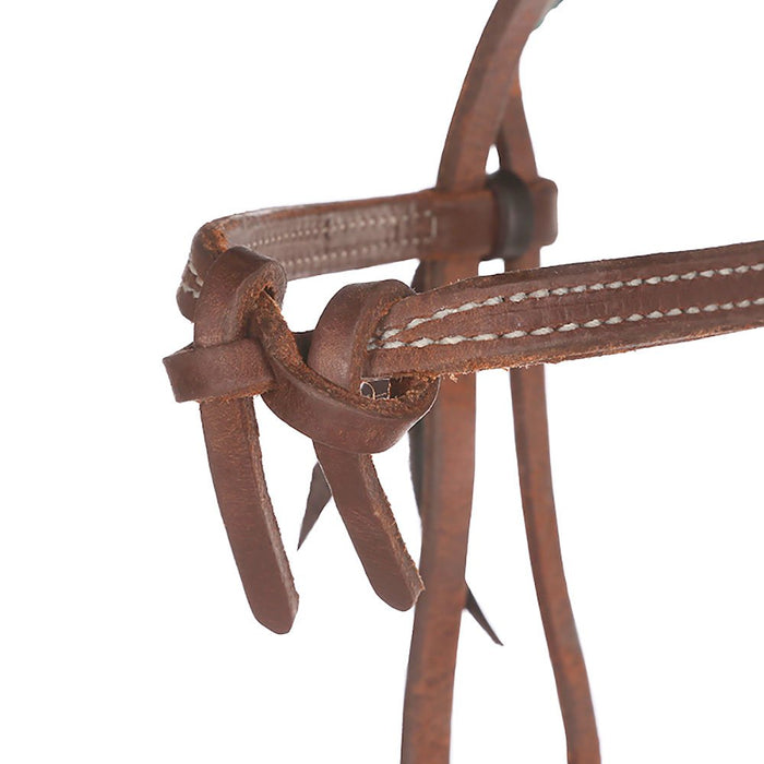NRS Tack Rattlesnake Knotted Browband Headstall