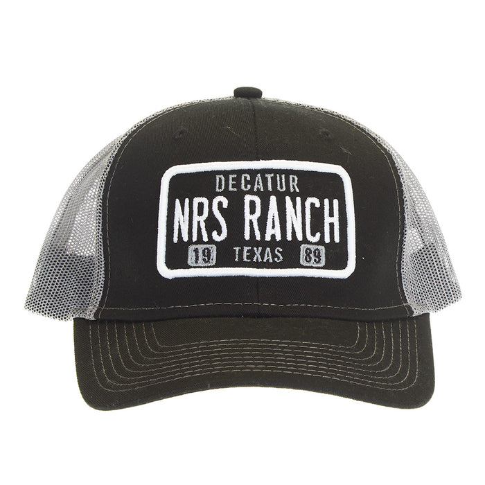 NRS Black Embroidery Logo Cap