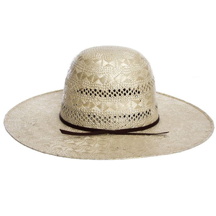 Rodeo King Rami Open Crown 4-1/2in. Brim Straw Cowboy Hat