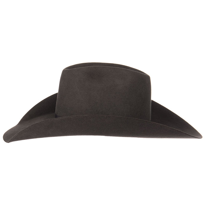 Rodeo King 7X Charcoal Hat 4 1/2in. Brim