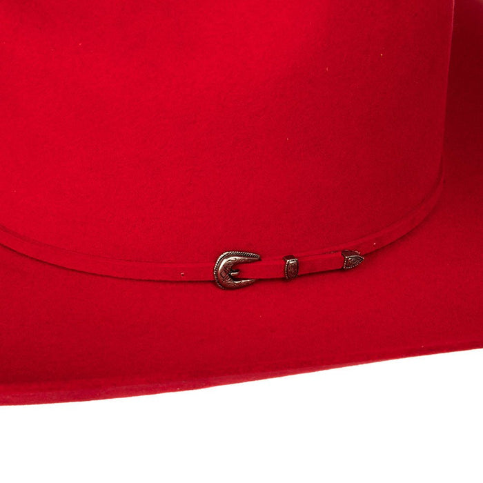 Rodeo King 7X Red 4 1/4in. Brim