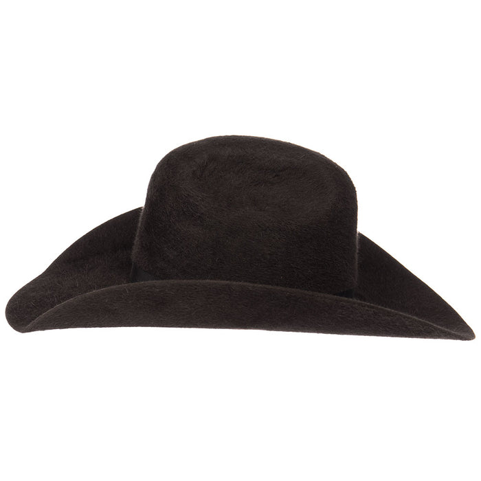 Rodeo King 10X Charcoal Grizzly Hat 4 1/2in. Brim
