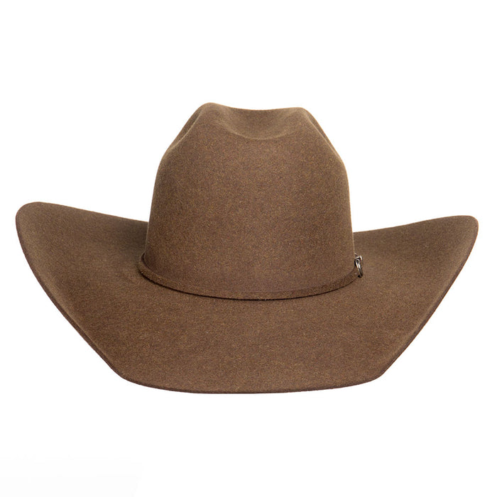 Rodeo King 7X Hickory 4 1/2in. Brim Self Band