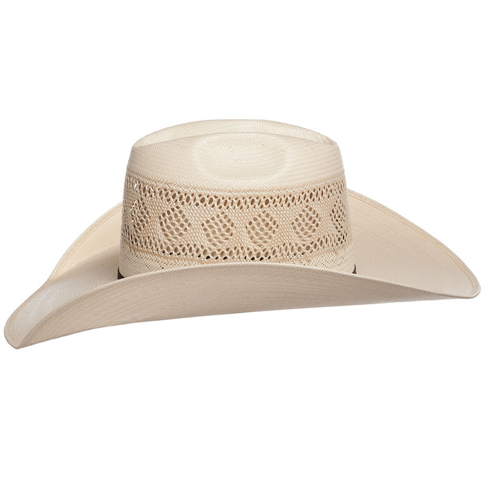 Rodeo King All Around Diamond Vent Open Crown 4 1/4in. Brim Cowboy Hat