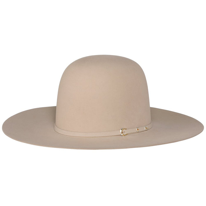 Resistol 100X Resistol Pure 4-1/4in. Brim Open Crown Felt Cowboy Hat