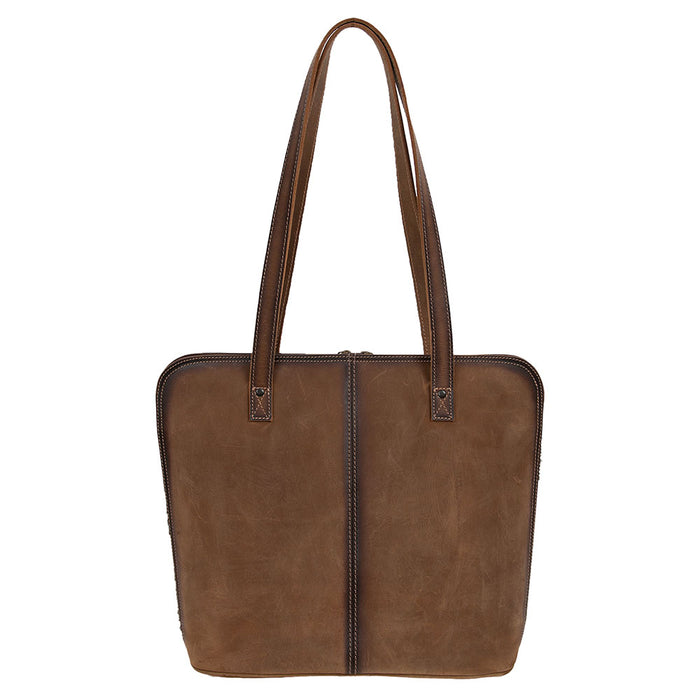 STS Cowhide Laptop Shopper
