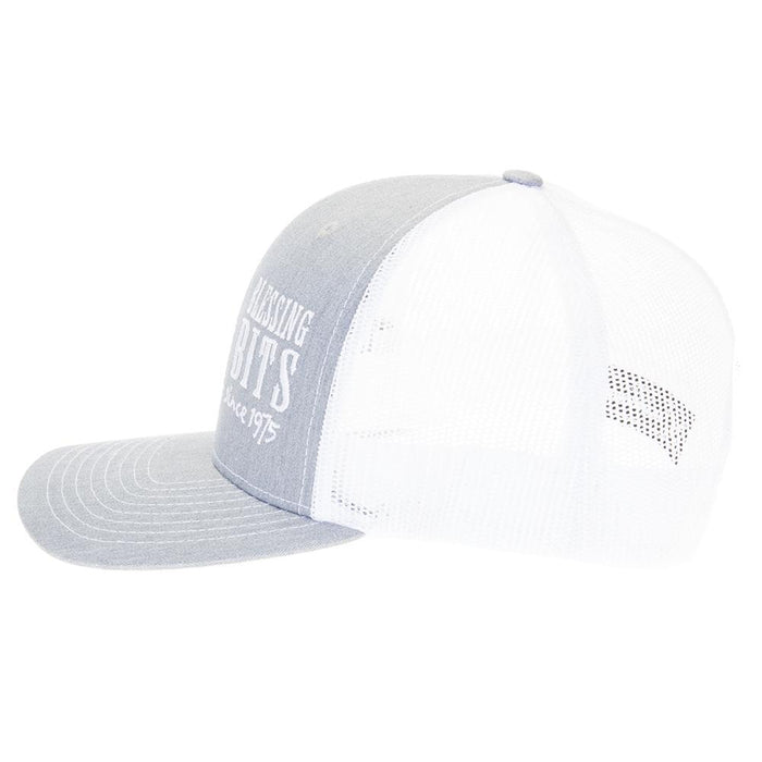 Blessing Bits Heather Grey/White Cap