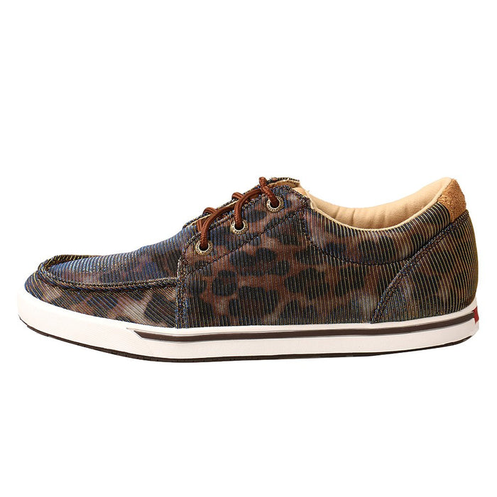 Women's Twisted X Shiny Leopard Print Loper