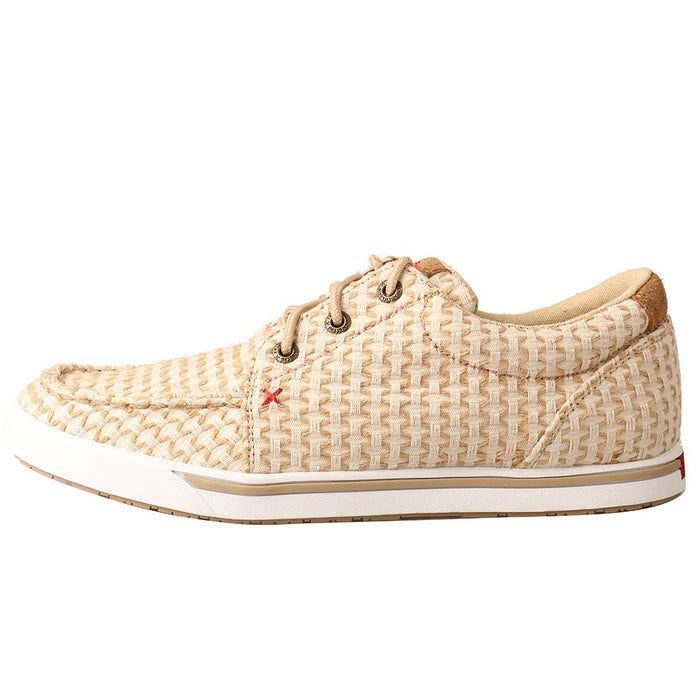 Women's Twisted X Sand Shell Woven Loper Shoe