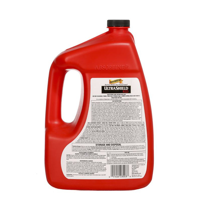 Absorbine UltraShield Red Insecticide & Repellent Gallon