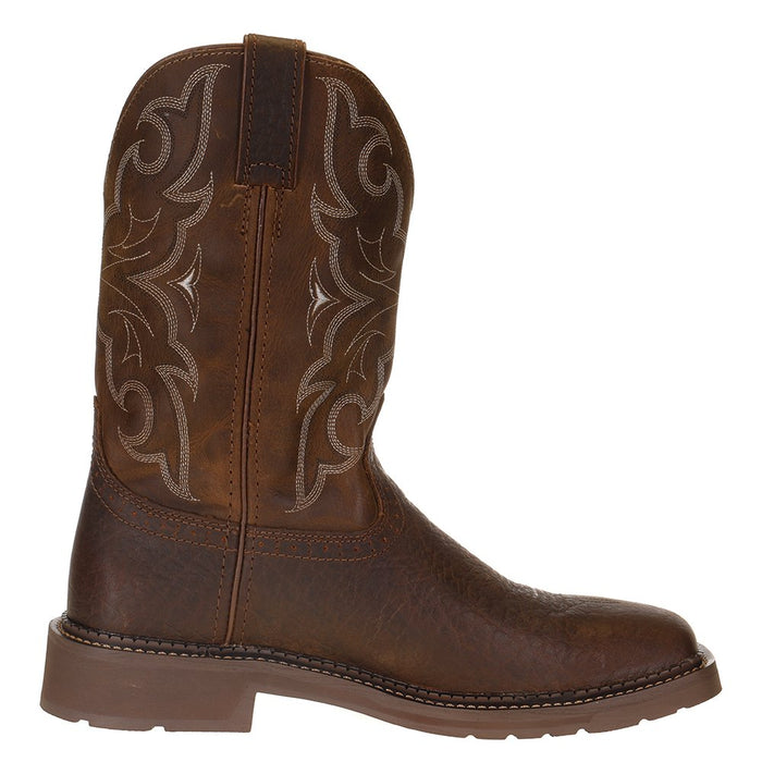 Men's Justin Stampede Amarillo 11in. Cactus Top Soft Toe Work Boot