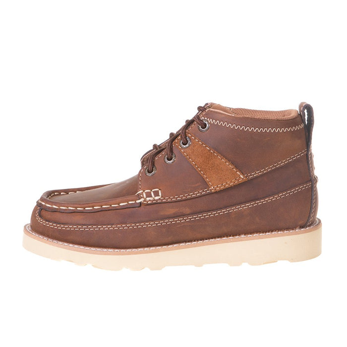 Youth Oiled Saddle  Wedge Casual