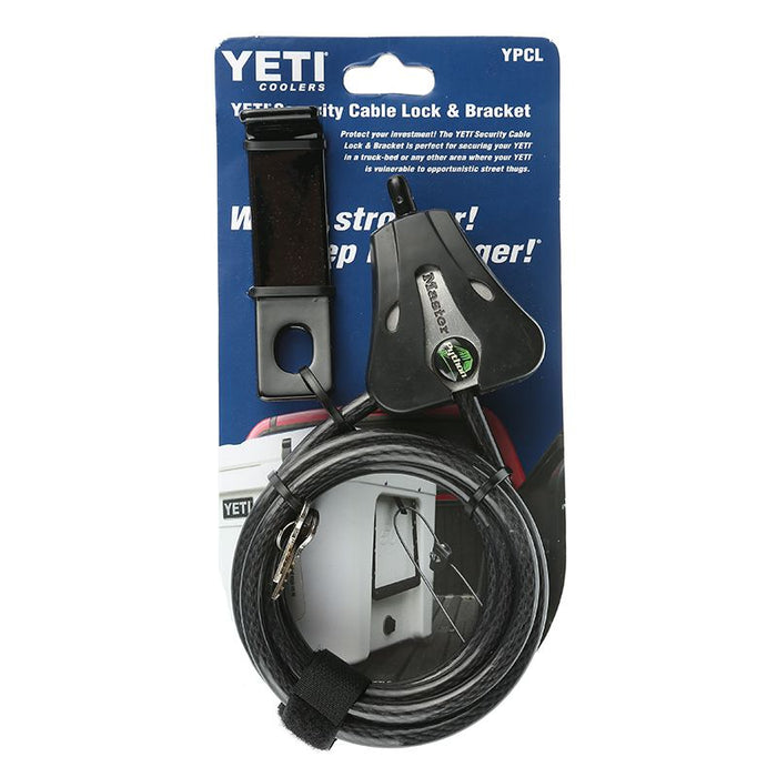 YETI Security Cable Lock and Bracket