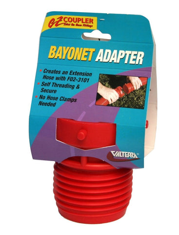 EZ Coupler Bayonet Fitting - Red