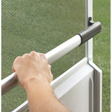 Camco RV Screen Door Cross Bar - White