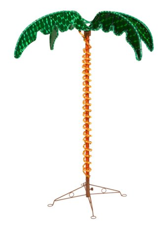 LED Rope Light 7' Palm Tree