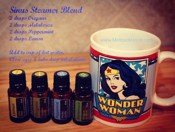 Get Back To Being Wonder Woman With This Sinus Steamer Blend!