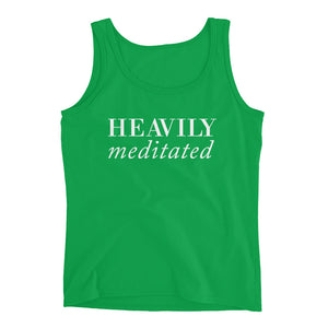 Heavily Meditated Ladies' Tank - ChooseSelfcare
