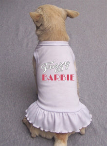 Fuzzy Barbie Dress