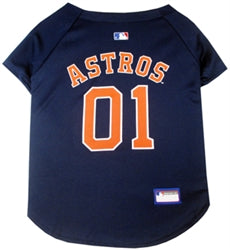 Houston Astros Officially Licensed MLB Dog Jersey