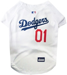 Los Angeles Dodgers Officially Licensed MLB Dog Jersey