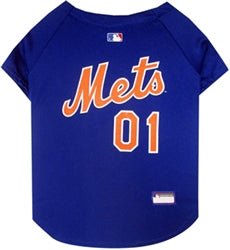 New York Mets Officially Licensed MLB Dog Jersey