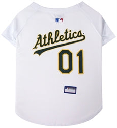Oakland Athletics Officially Licensed MLB Dog Jersey