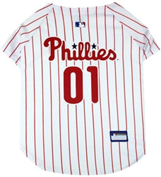 Philadelphia Phillies Officially Licensed MLB Dog Jersey