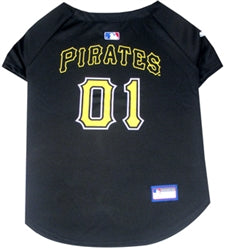 Pittsburgh Pirates Officially Licensed MLB Dog Jersey