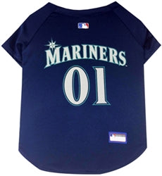 Seattle Mariners Officially Licensed MLB Dog Jersey