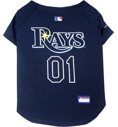 Tampa Bay Rays Officially Licensed MLB Dog Jersey