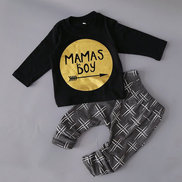 Printed Baby Clothes Set (Boys + Girls)
