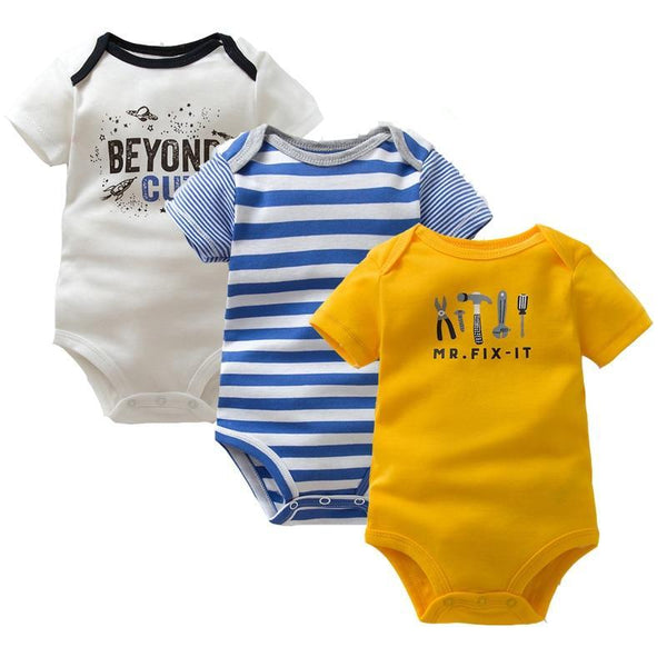3-in-1 Short Sleeve Bodysuit