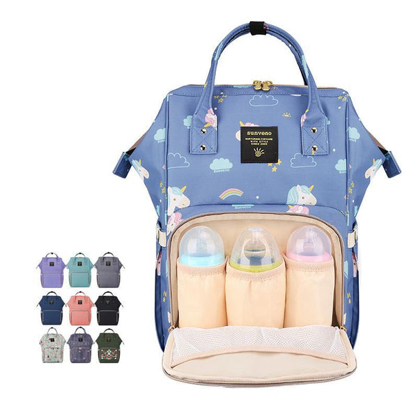 Colorful Fashion Backpack Diaper Bag