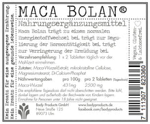 Laden Sie das Bild in den Galerie-Viewer, Maca Bolan