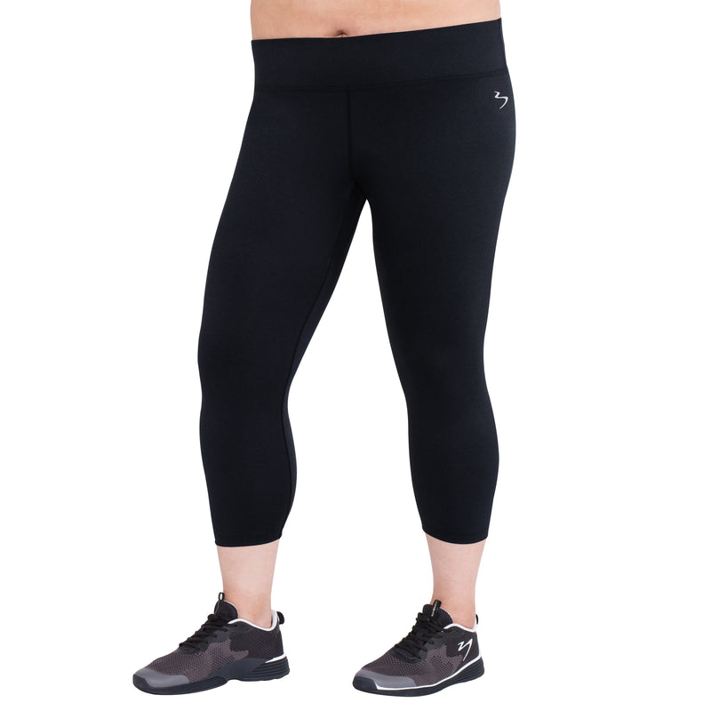 Women's Plus Energy Crop Mid Rise Tight
