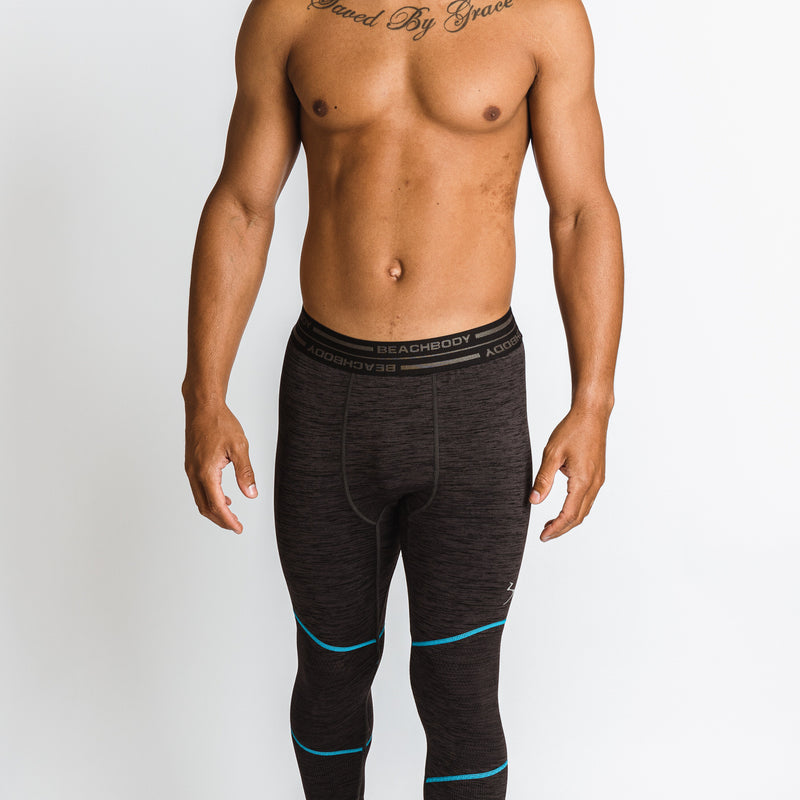 Men's Energy Cropped Seamless Tight