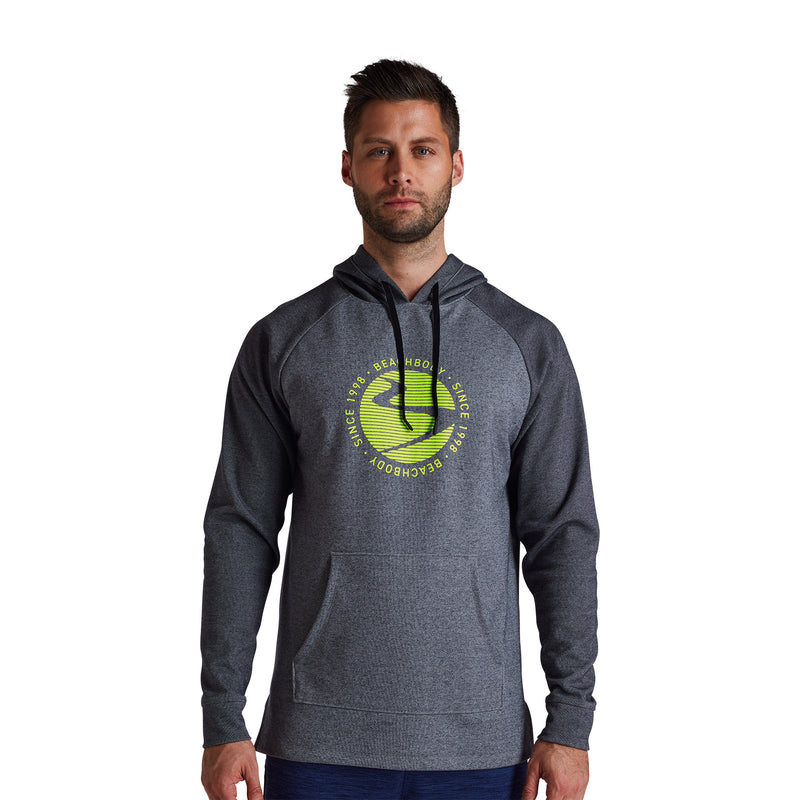 Men's Go-To Verbiage Linear Wave Hoodie