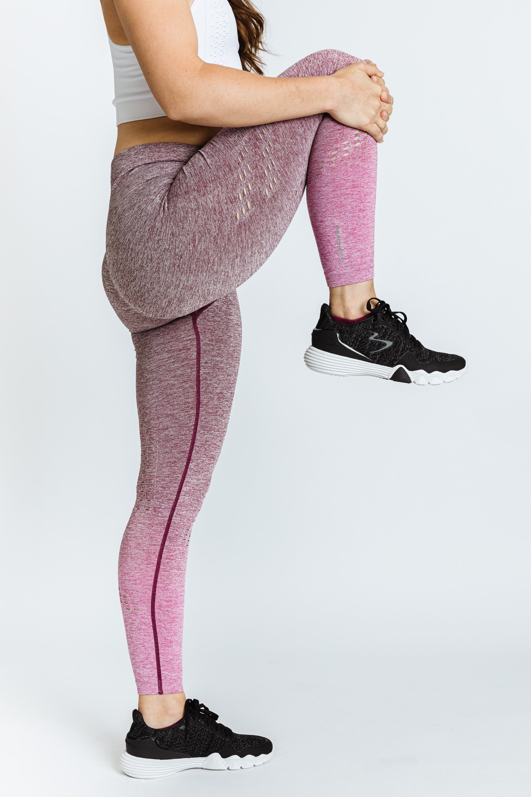 Women's Ombre Long Tight H. Rise