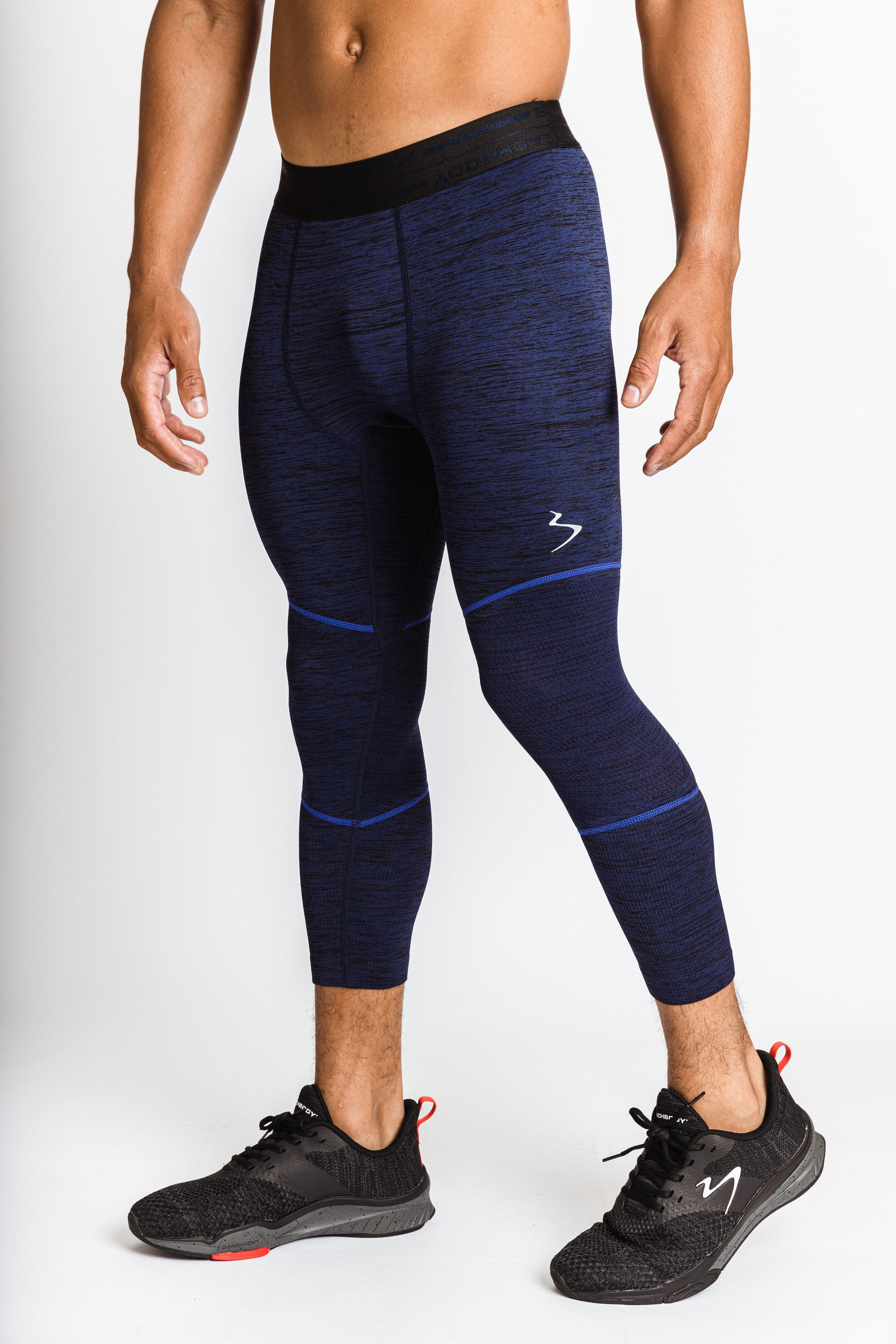 Men's Seamless Cropped Tight