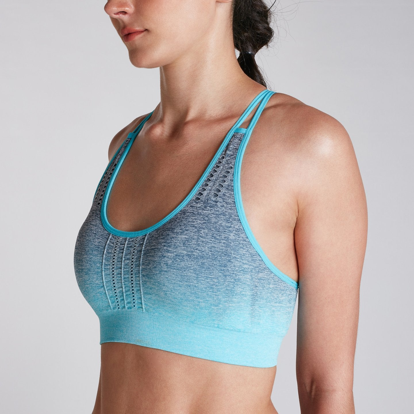 Women's Performance Ombre Bra Tealy