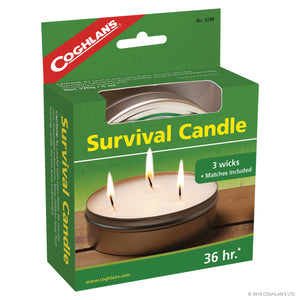 Coghlan's 36 Hour Survival Candle