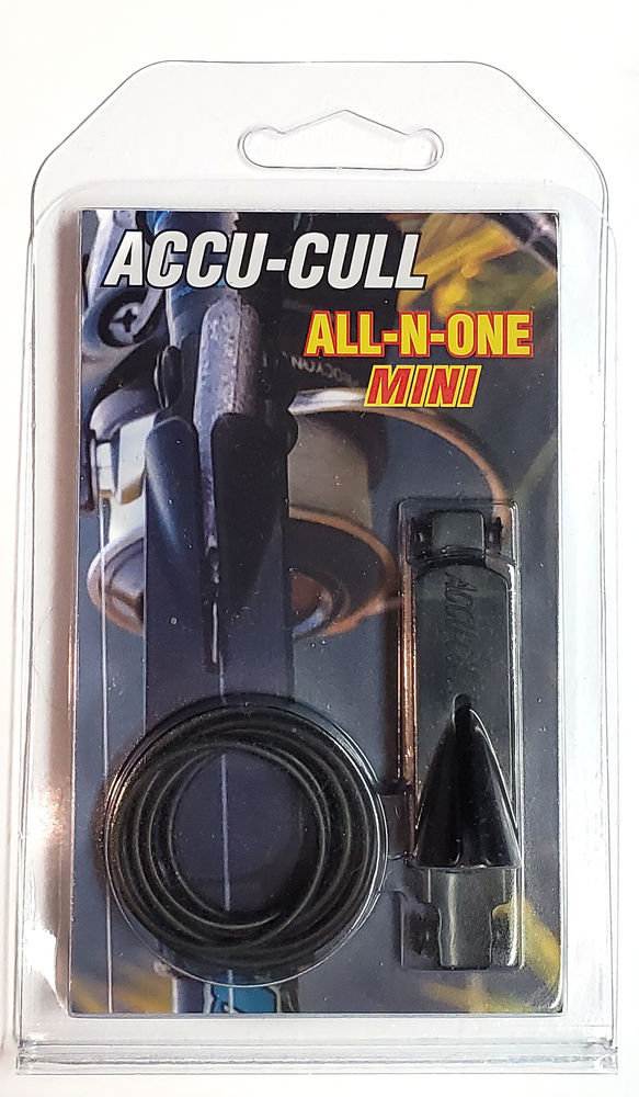 Weight and Hook Keeper Accu-Cull All-N-One Mini Drop Shot Weight Or Hook Holder